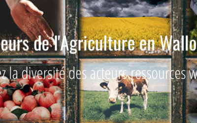 Cartographie des acteurs de l'Agriculture wallonne